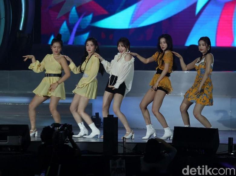 7 Fakta Red Velvet yang Baru Comeback Lewat Lagu Umpah Umpah/Foto: (Agung Pambudhy/detikcom)