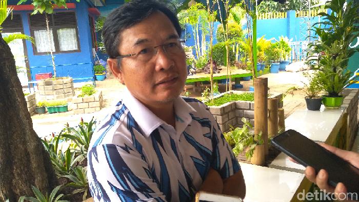 Plt Kepala Dinas Sumber Daya Air DKI Jakarta, Yusmada (Azizah-detikcom)