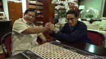 Prabowo Jadi Menteri Berkinerja Baik, Sandiaga: Selamat, Bos!