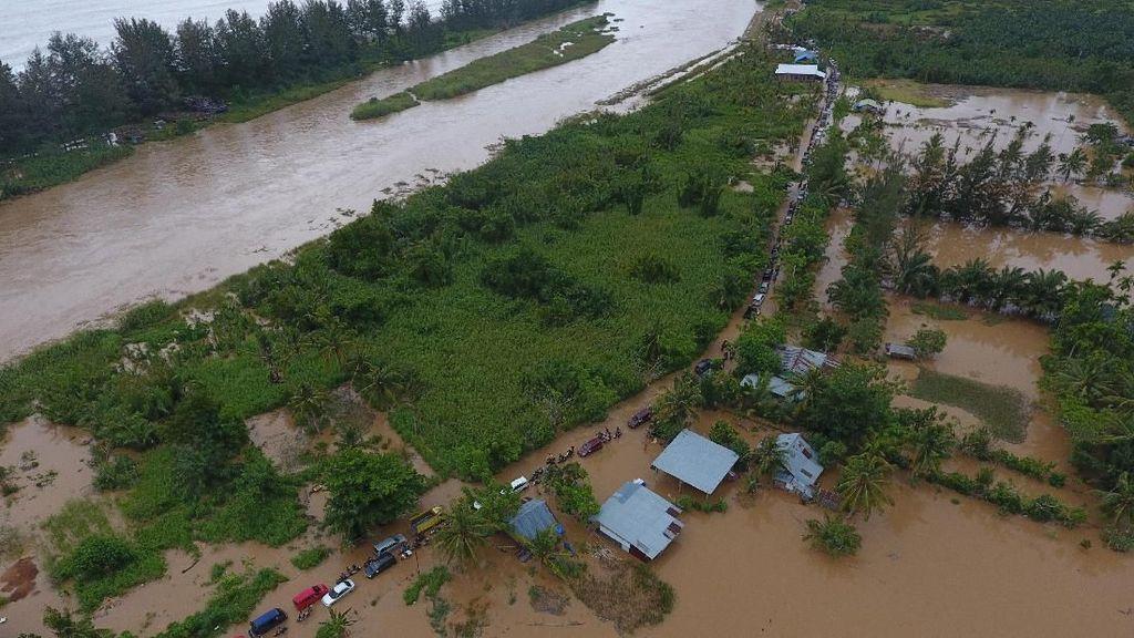 BPBD: Kerugian Banjir-Longsor Bengkulu Rp 144 Miliar