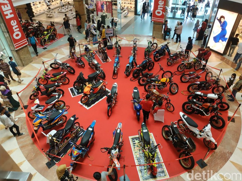 Honda Modification Contest di Pekanbaru. Foto: Ridwan Arifin