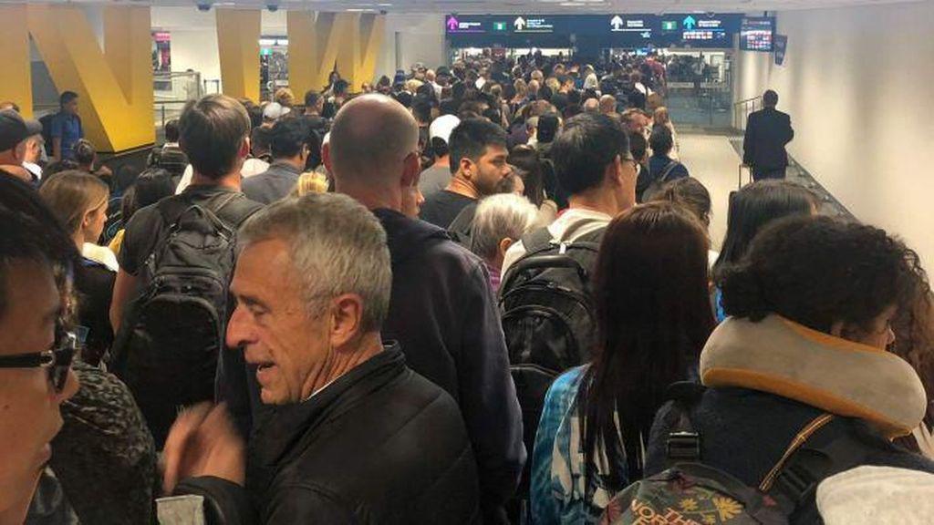 Sistem Komputer Tak Berfungsi, Bandara Australia Kacau