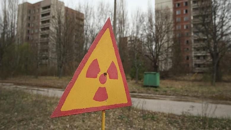 Reaktor nuklir Chernobyl di Ukraina (Getty Images)