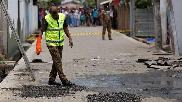 Baku Tembak Lukai Istri dan Anak Dalang Utama Bom Sri Lanka