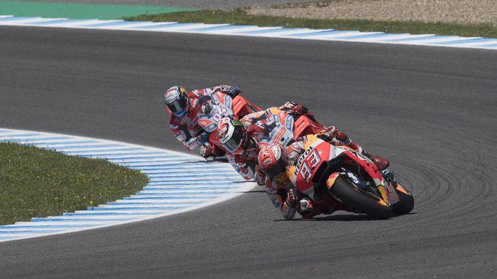 Pebalap-pebalap tuan rumah mendominasi pemenang MotoGP Spanyol dalam satu dekade. (Foto: Mirco Lazzari gp/Getty Images)