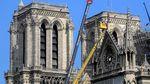 Penampakan Terkini Renovasi Gereja Notre Dame