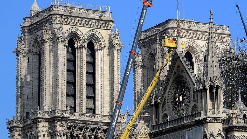 Janji Triliunan, Orang Kaya Prancis Belum Sumbang Notre Dame