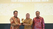Bupati Serang Raih Penghargaan Top Pembina BUMD 2019