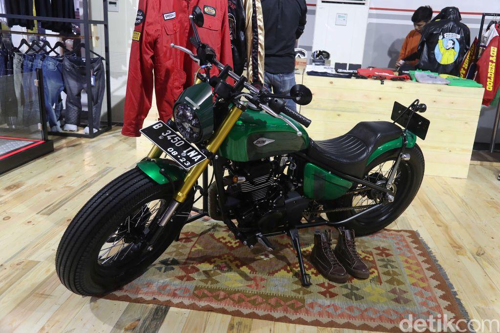 Kawasaki W175 Milik Jokowi