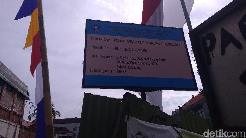 Polemik Lahan Eks TKP Bom Bali, Bupati Badung Jadi Mediator