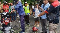Pemotor Tewas Tertimpa Pohon di Semarang