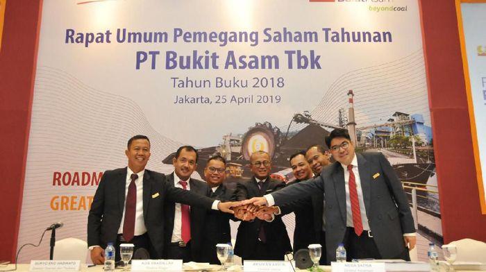 PT Bukit Asam Tbk menggelar RUPS/Foto: Dok. Bukit Asam