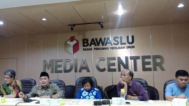 Diskusi 'Tantangan Pemilu RI 2019 di Luar Negeri' di gedung Bawaslu