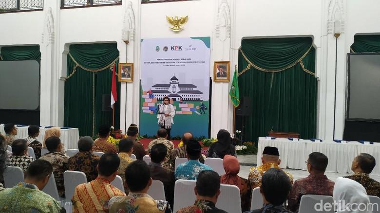 KPK Dorong Jabar Tiru Makassar Soal Sistem Monitoring PAD Online
