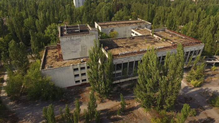 Lokasi Chernobyl. (Foto: Getty Images)