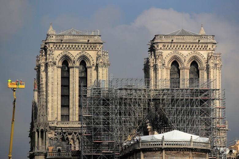 Pemerintah Paris Tes Paparan Timbal Efek Kebakaran Notre-Dame