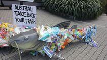 Australia Buka Suara soal Isu Penyelundupan Sampah Plastik ke Indonesia