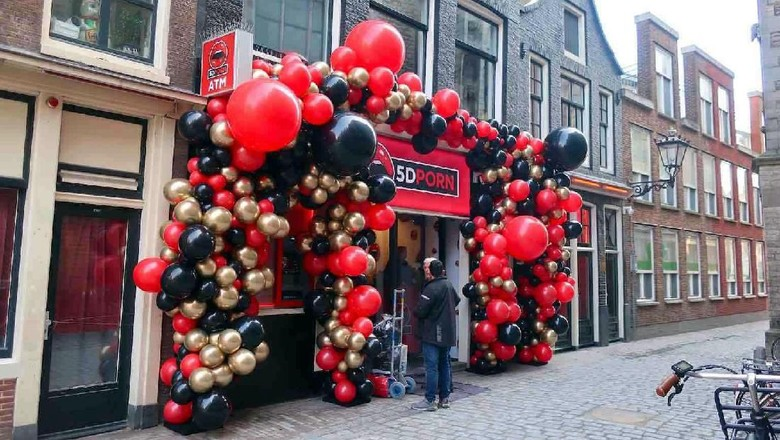 Bioskop porno 5 dimensi di Amsterdam, Belanda (dok. 5D Porn)