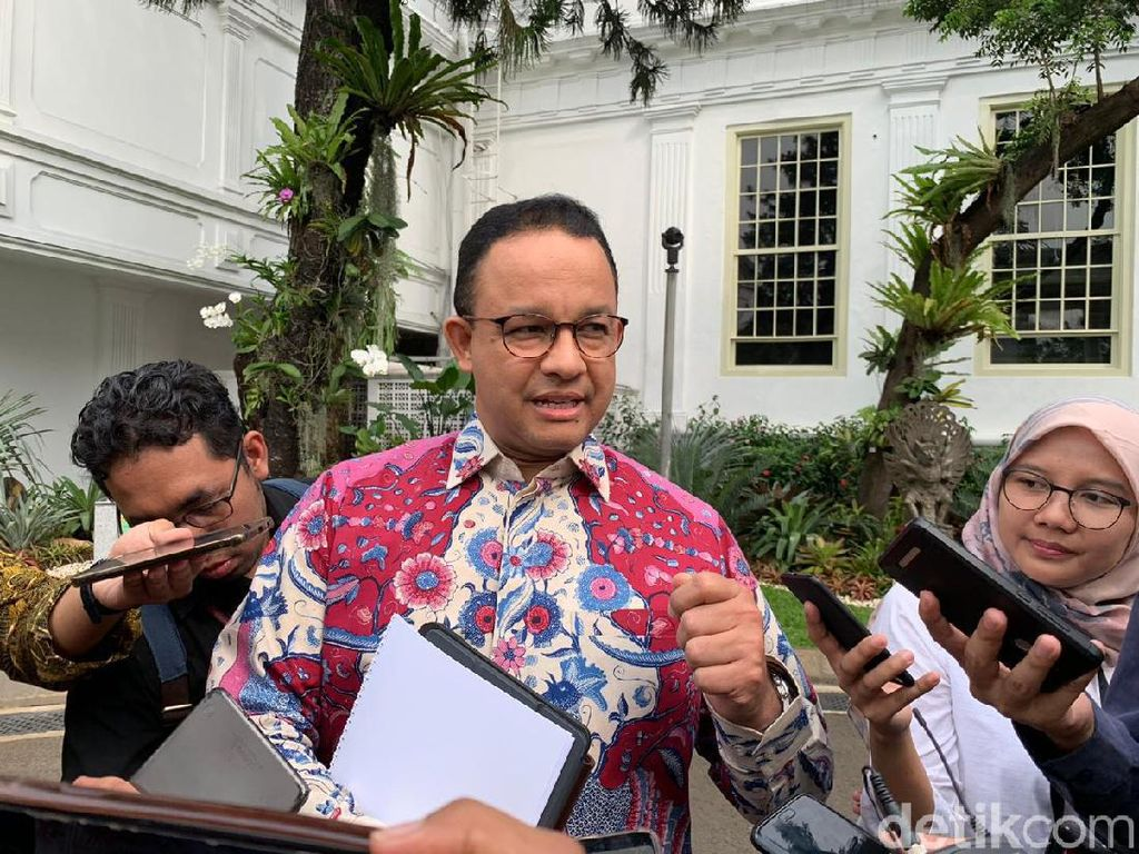 Anies Dinas di Jepang, Pemprov DKI Jamin 22 Mei Sudah di Jakarta