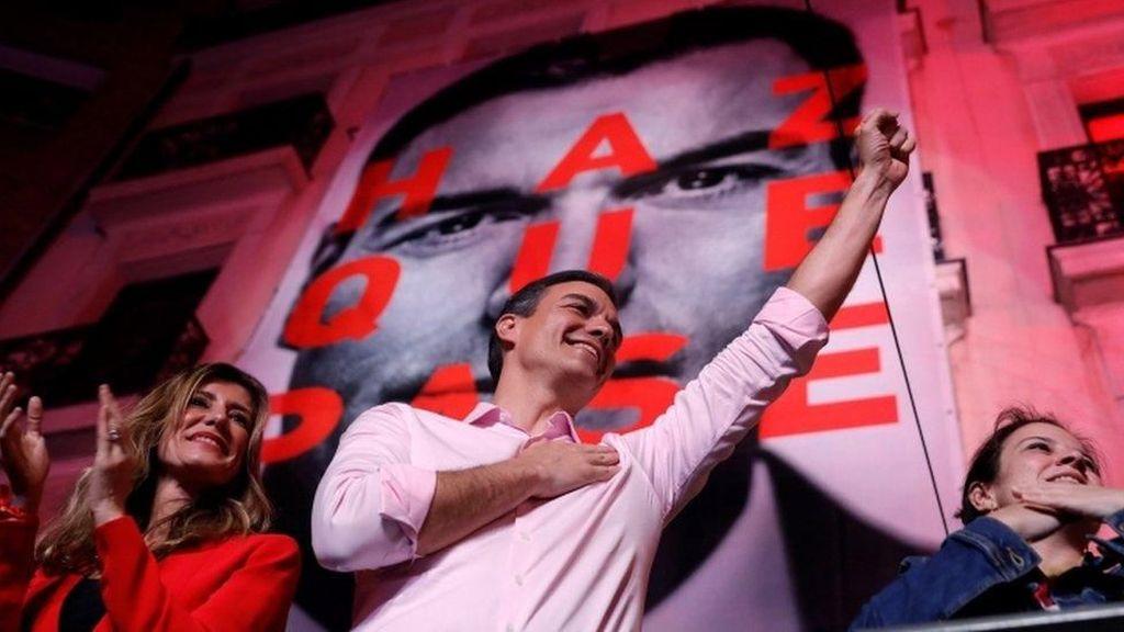 Partai Sosialis Menangkan Pemilu Spanyol