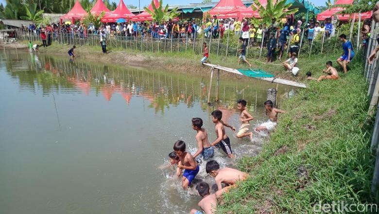 Tradisi munggahan di Pangandaran (Andi Nurroni/detikcom)