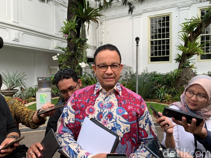 Gubernur Jakarta, Anies Baswedan (Ray Jordan/detikcom)