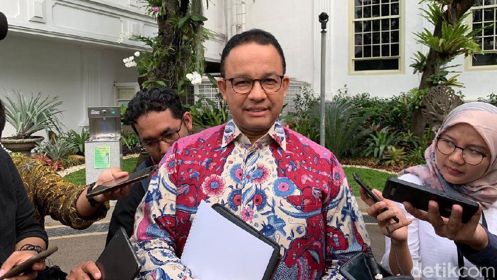 Jokowi Mau Pindahkan Ibu Kota RI, Apa Kata Anies?