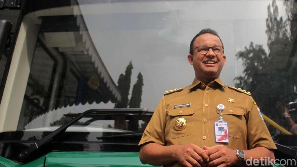 Kata Anies Usai Jajal Bus Listrik China Calon Transjakarta