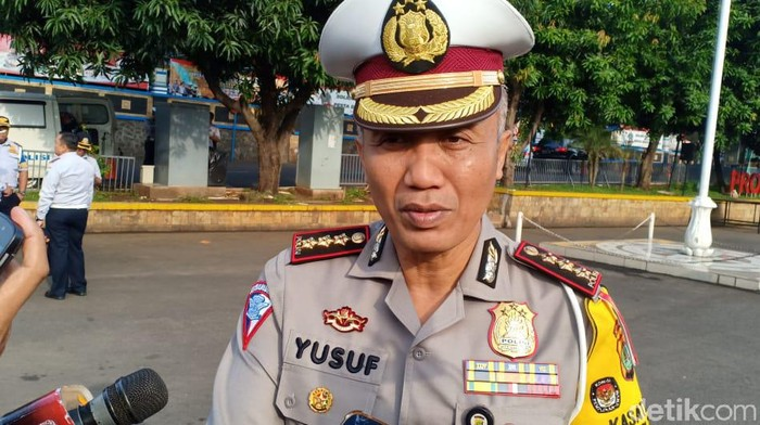 Dirlantas Polda Metro Jaya, Kombes Yusuf (Samsudhuha Wildansyah/detikcom)