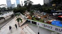 Pembangunan Spot Budaya di Dukuh Atas Terus Dikebut