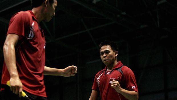 Markis Kido/Hendra Setiawan sempat menyandang status sebagai pebulutangkis nomor satu dunia.