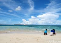 Pulau Intata (Faela Shafa/detikTravel)