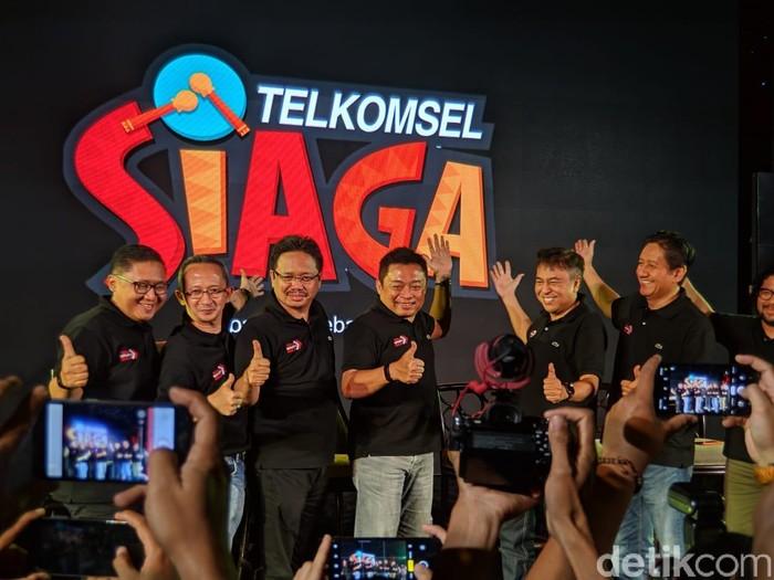 Para petinggi Telkomsel. Foto: Adi Fida Rahman/detikINET