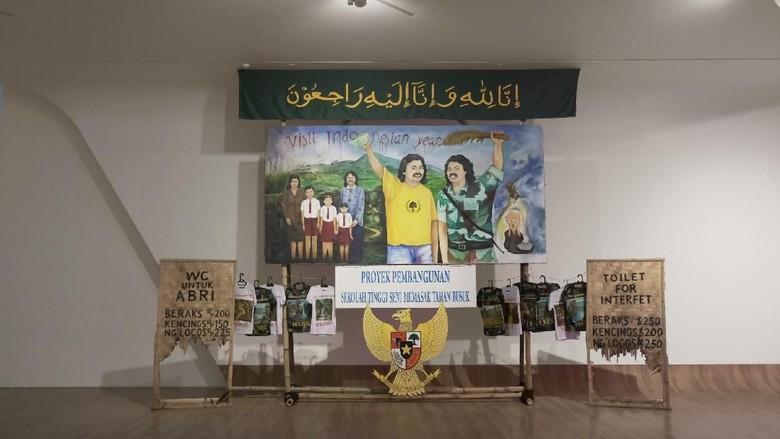 Cerita Tisna Sanjaya Boyong Karya Instalasi Era Reformasi ke Museum MACAN Foto: Museum MACAN/ Istimewa