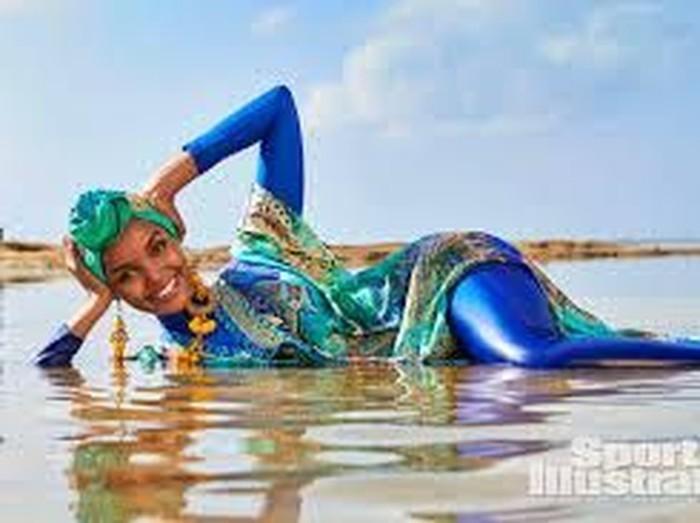Halima Aden. Foto: Dok. Yu Tsai/Sports Illustrated Swimsuit