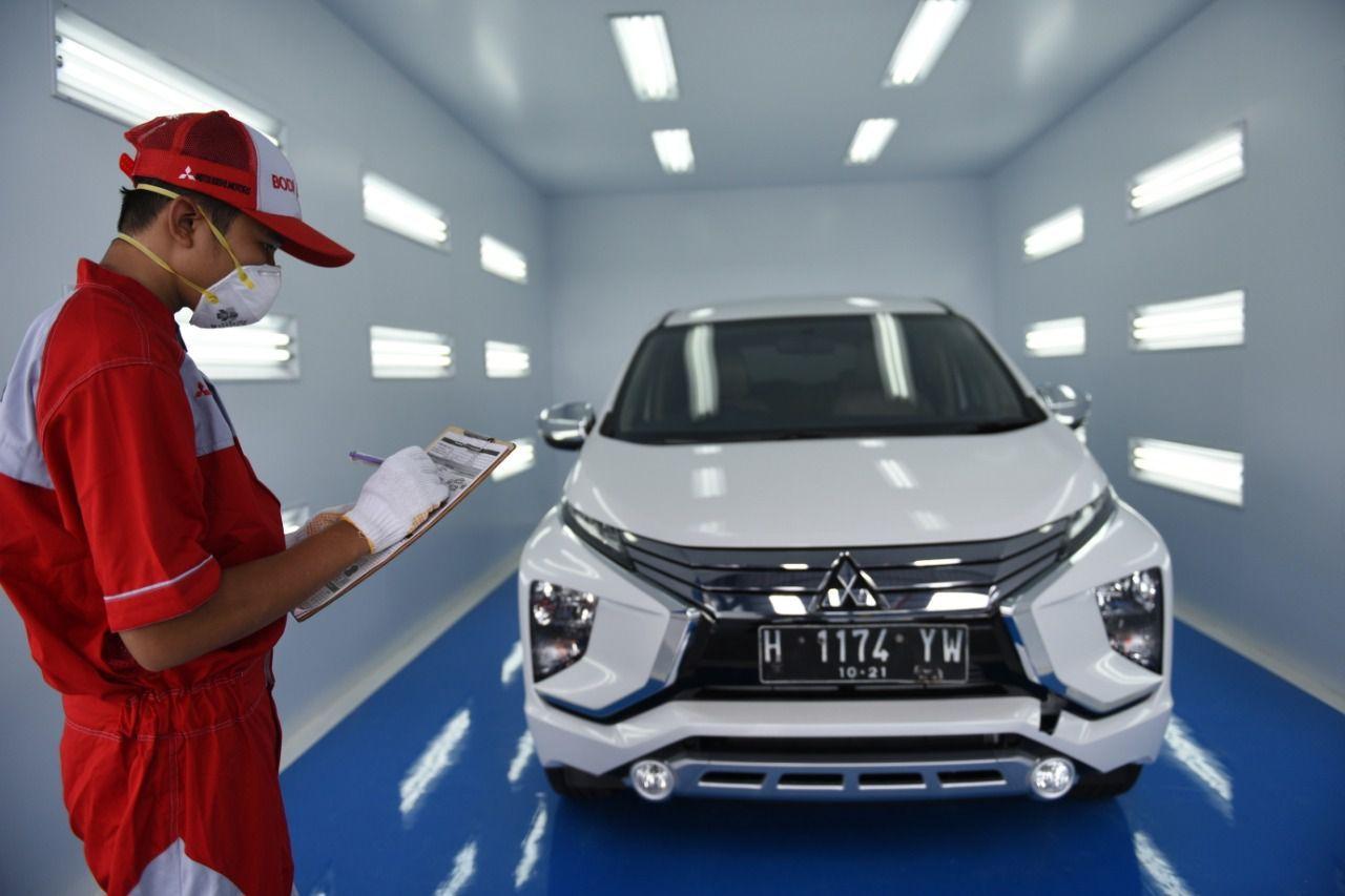 Ilustrasi diler Perbaikan dan pengecetan Mitsubishi di Semarang Jawa tengah