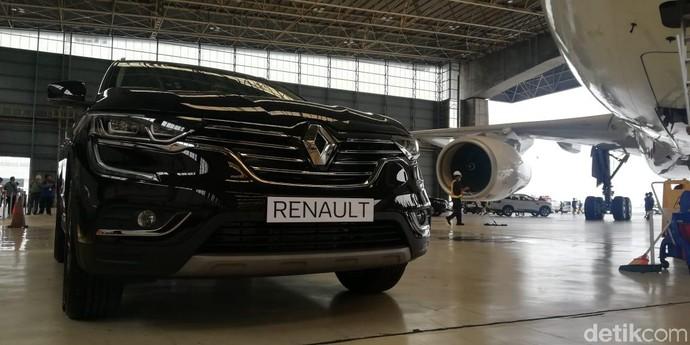 Di bawah bendera Maxindor Renault Indonesia, Koleos menawarkan dua varian dengan harga berbeda. Foto: Rizki Pratama/detikOto