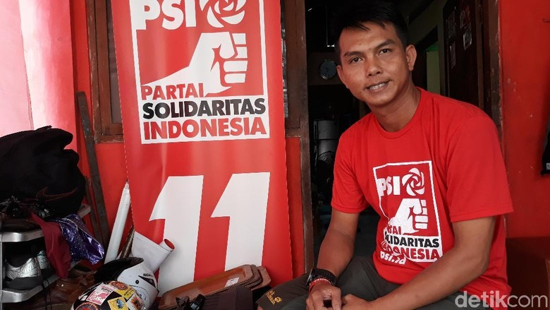 13 Tahun Jadi Satpam, Caleg PSI Ini Bakal 'Jaga' DPRD Solo
