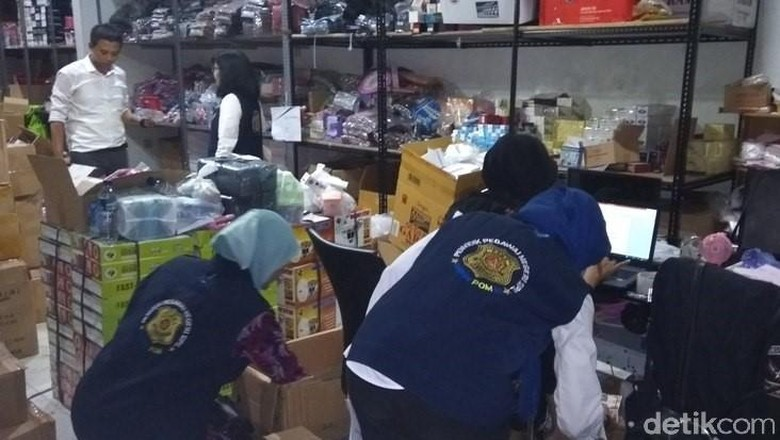 BBPOM Sita Kosmetika Ilegal Senilai Rp1 M di Kota Magelang