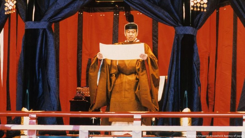 Pergantian Takhta di Jepang, Berakhirnya Era Heisei