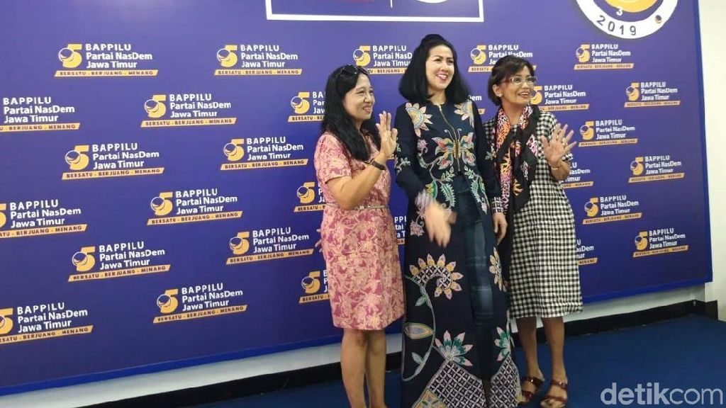 9 Artis Caleg NasDem di Jatim, Hanya Venna Melinda yang Lolos ke Senayan