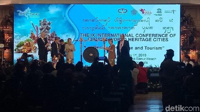 Konferensi Organisasi Kota Pusaka Dunia (Aditya Mardiastuti/detikcom)