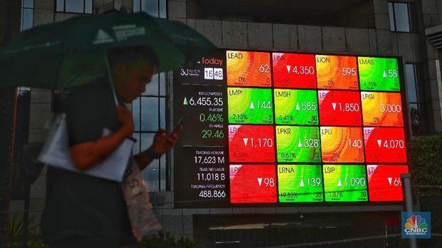 IHSG Anjlok, Pekan Ini Rp 124 Triliun Lenyap Dari Pasar Saham