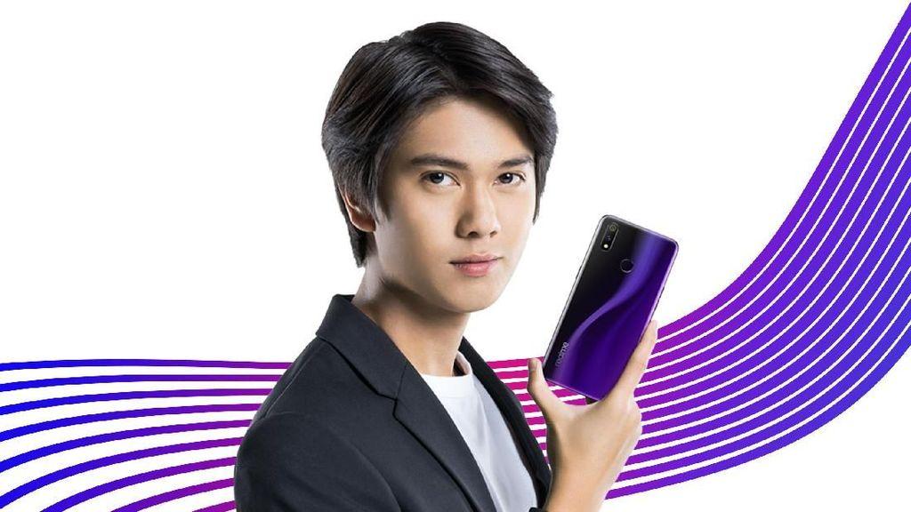 Realme 3 Pro Hadir bareng Dilan