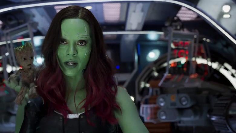 Avengers: Endgame Pintu Awal Ungkap Nasib Gamora