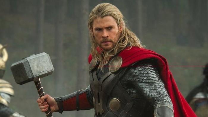 Thor yang diperankan oleh Chris Hemsworth. Foto: istimewa