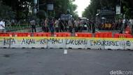 Polisi Selidiki Kaitan Gerakan Massa Berbaju Hitam di DKI-Kota Lain