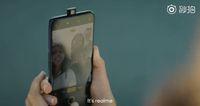 Wujud dari Realme X dalam sebuah video promo.