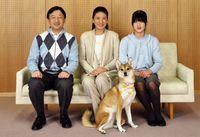 Raja Naruhito, Michiko, dan Putri Aiko
