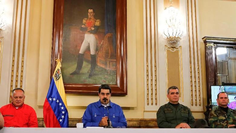 Disebut AS Akan Kabur ke Kuba Saat Upaya Kudeta, Maduro: Itu Lelucon